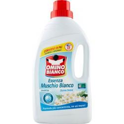 Omino Bianco - Detersivo Lavatrice Liquido Muschio Bianco, 23 Lavaggi, 1150 ml