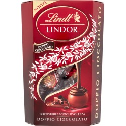 Lindt Cornet Lindor Doppio Cioccolato 200 g