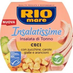 Rio mare Insalatissime Insalata di Tonno Ceci con zucchine, carote gialle e arancioni 160 gr.