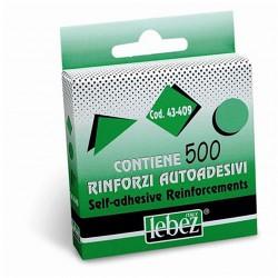 Etichetta adesiva lebez occhielli pz.500 in