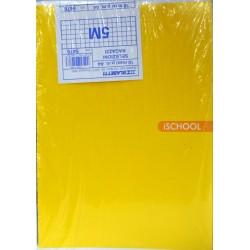 Pacco x10 quaderni a quadretti 5mm colori assortiti