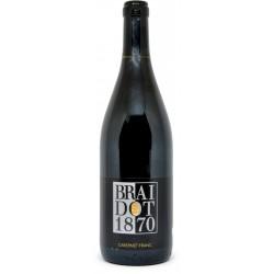 Braidot vino cabernet franciacorta doc friuli cl.75