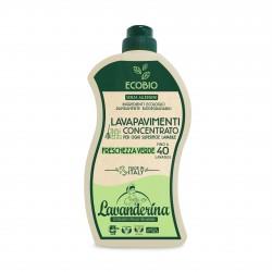 Lavanderina lavapavimenti concentrato freschezza verde lt.1