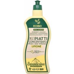 Lavanderina piatti concentrato al limone bio ml.650