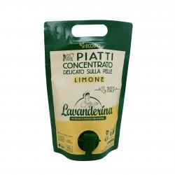 Lavanderina piatti a mano limone eco lt.1,5
