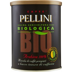Pellini caffè Bio Arabica 100% 250 gr.