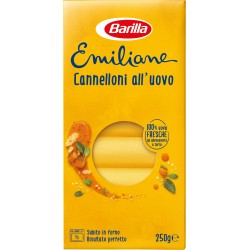 Barilla Emiliane Cannelloni all'uovo gr.250