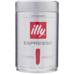 Illy caffe rosso tostato macinato - gr.250