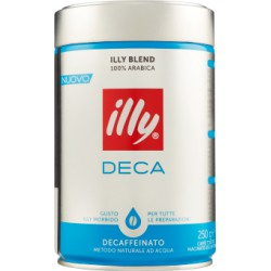Illy caffe' decaffeinato macinato - gr.250
