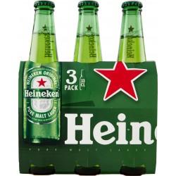 Heineken birra cl.33 cluster x3