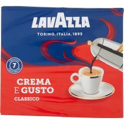 Lavazza caffe crema e gusto - gr.250 x2