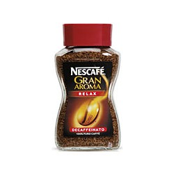 Nescafe gran aroma decaffeinato relax - gr.50