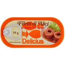 Delicus filetti di alici piccanti - gr.50