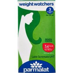 Parmalat weight watchers Latte Scremato UHT 500 ml.