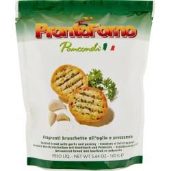 ProntoForno Pancondì Fragranti bruschette all'aglio e prezzemolo 160 gr.