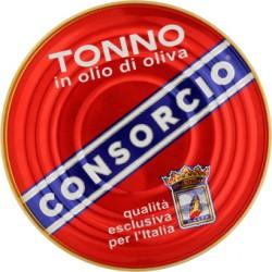 Consorcio tonno olio oliva - gr.200