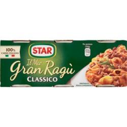 Gran ragu star classico - gr.100 x3