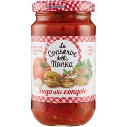 Le conserve della Nonna sugo alle vongole gr.190