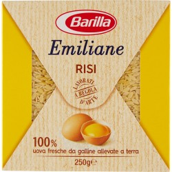 Barilla Emiliane Risi all'uovo n.105 gr.250