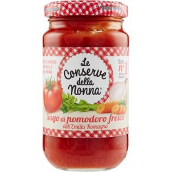 Le conserve della Nonna sugo al pomodoro gr.190