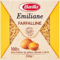 Barilla Emiliane Farfalline all'uovo n.114 gr.250