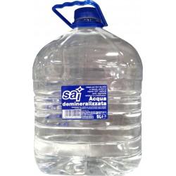 Sai acqua demineralizzata - lt.5