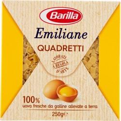 Barilla Emiliane Quadretti all'uovo n.115 gr.250