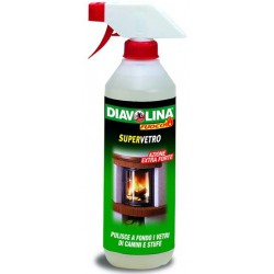 Diavolina spray pulisci vetro - ml.500