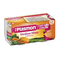 Plasmon omogeneizzato verdure miste - gr.80 x2