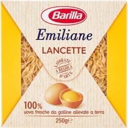 Barilla Emiliane Lancette all'uovo n.112 gr.250