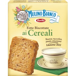 Mulino Bianco fette biscottate armonie cereali x32