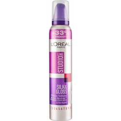 L'Oréal Paris Studio Line Silk&Gloss 6 Mousse volume 200 ml
