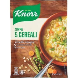 Knorr zuppa 5 cereali - gr.110